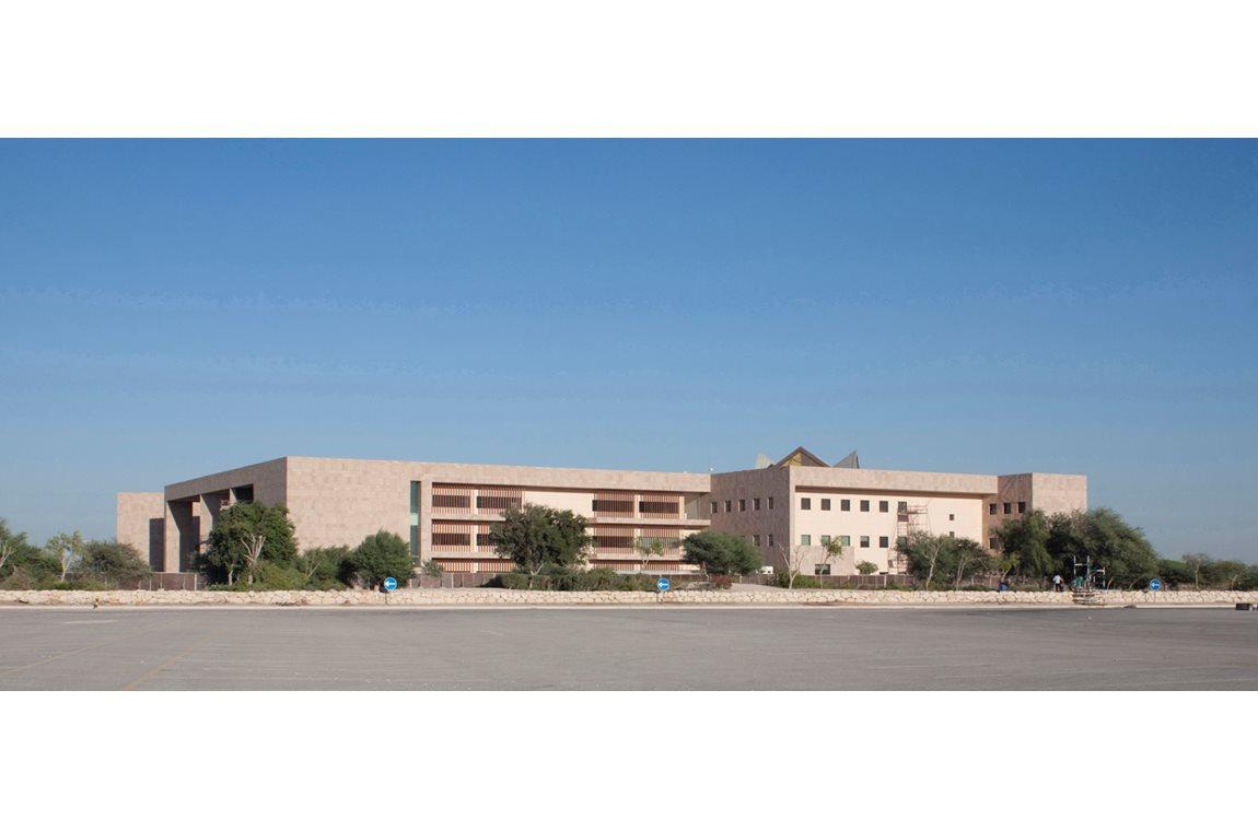 École de diplomatie de l'université de Georgetown, Qatar  - Bibliothèques universitaires et d'écoles supérieures