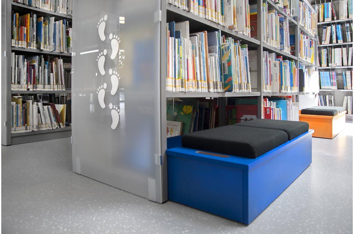 Openbare bibliotheek Bertrix, België - Openbare bibliotheek