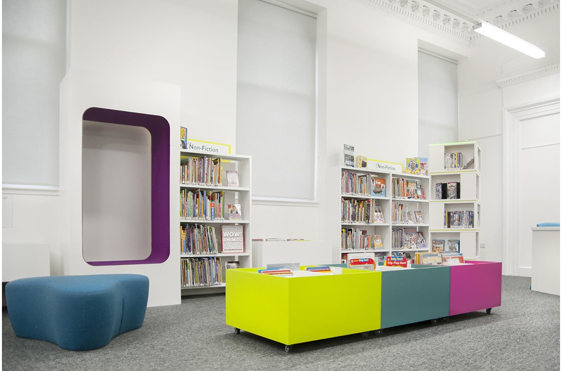 Openbare bibliotheek Greenock, Verenigd Koninkrijk - Openbare bibliotheek