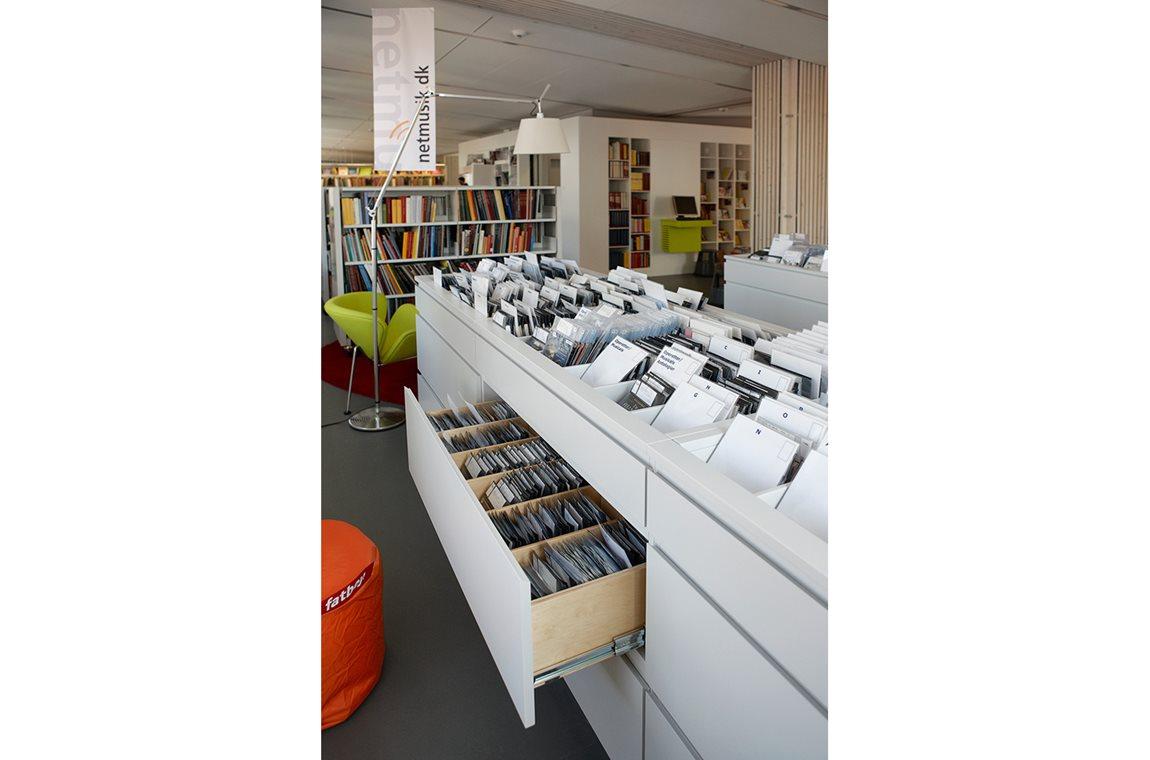 Bibliothèque municipale de Taastrup, Danemark - Bibliothèque municipale