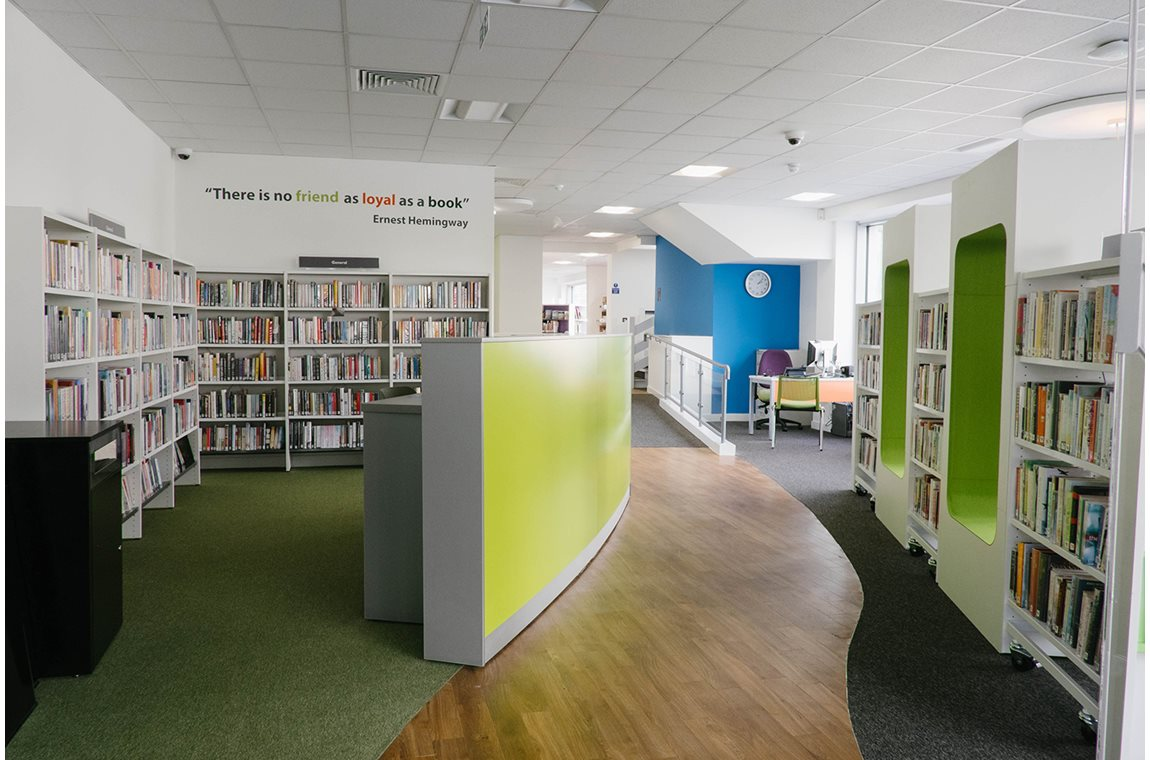 Plymouth Central Library, United Kingdom - Public libraries