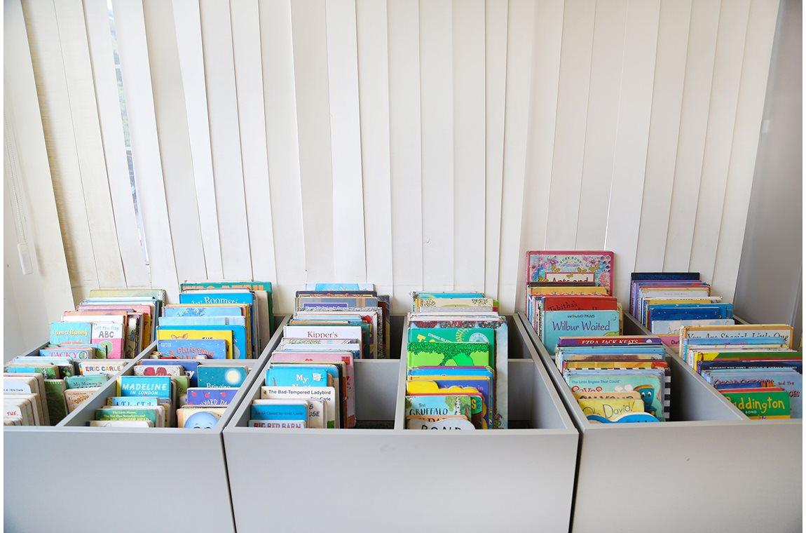 Kinderbibliothek Hippocampus, Indien - Schulbibliothek