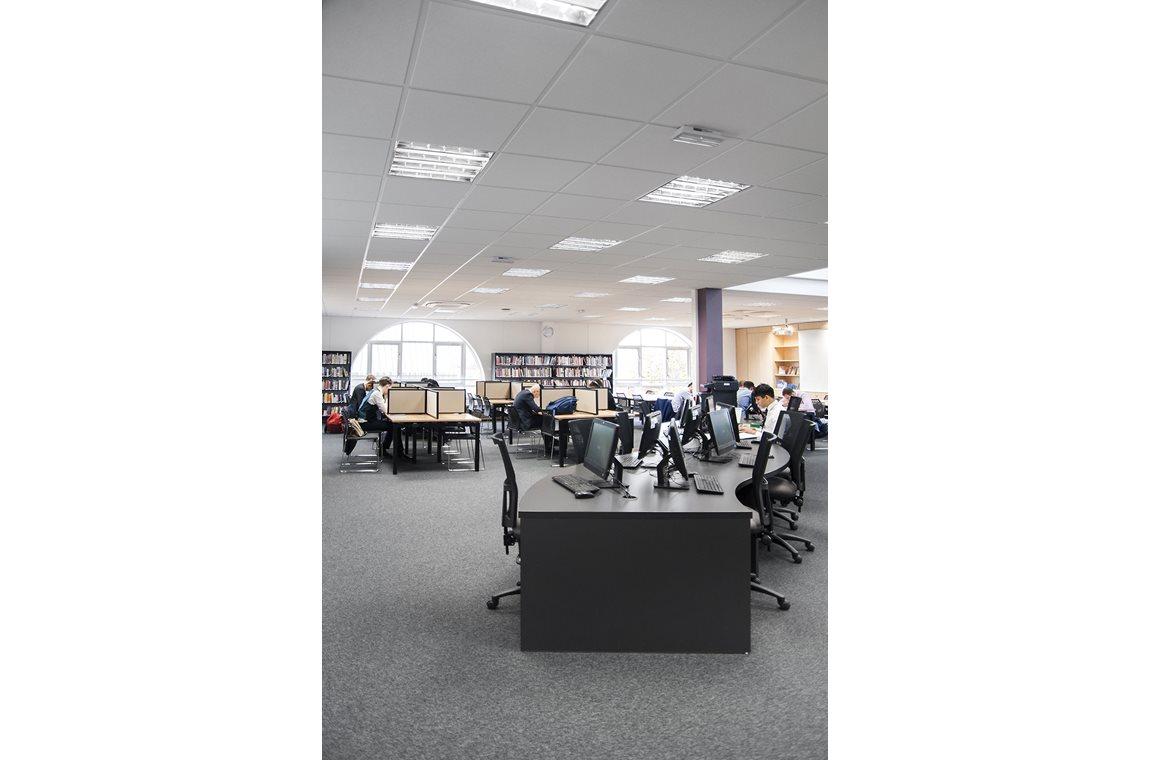 Haberdashers' Aske's Boys' School, Hertfordshire, United Kingdom - School libraries