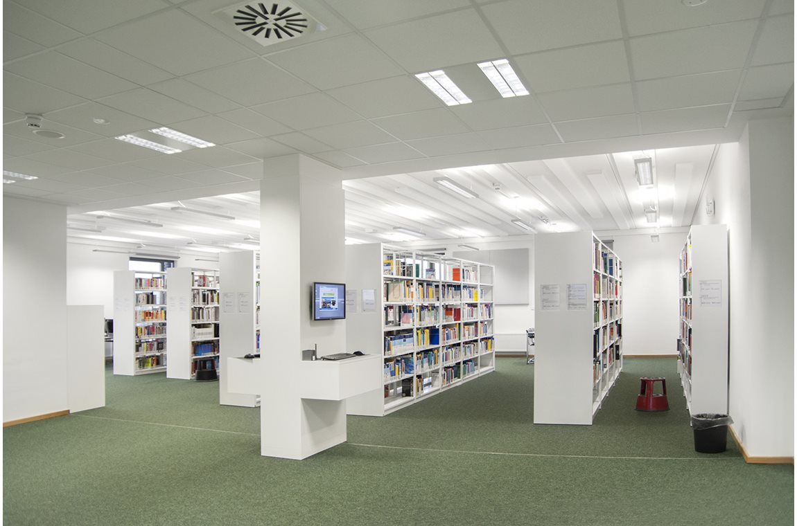 Hildesheim University of Applied Sciences and Arts, Tyskland  - Akademiska bibliotek