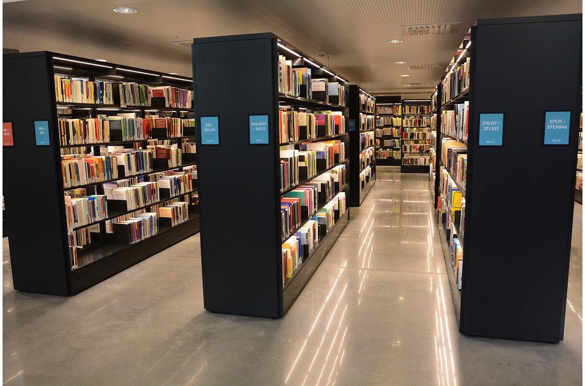 Høgskulen på Vestlandet, Bergen, Norge - Akademiska bibliotek