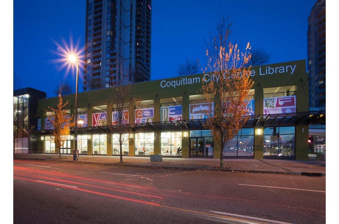 Coquitlam Public Library, Canada - Public libraries