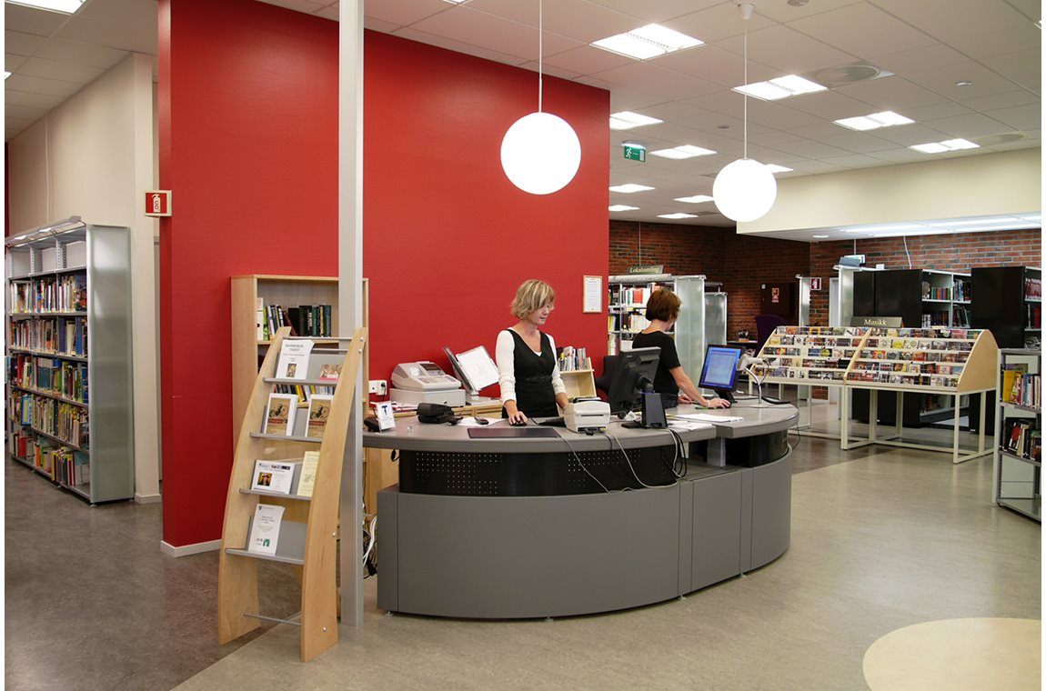 Raufoss Public Library, Norway - Public libraries