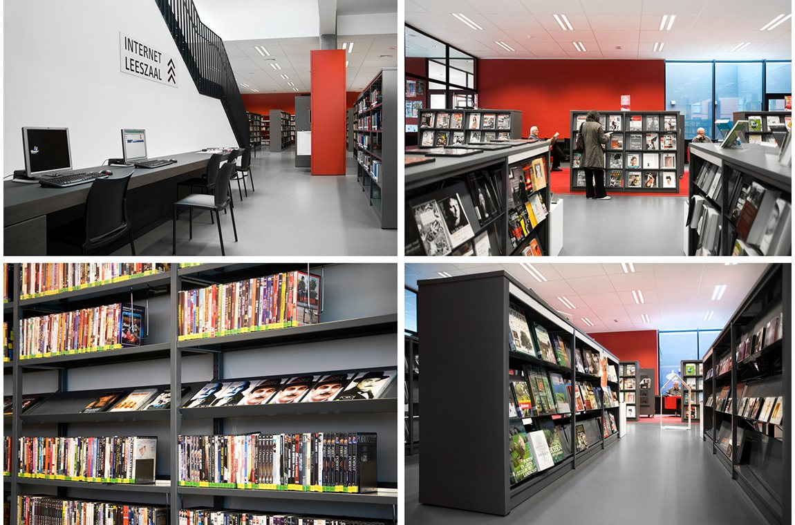 Öffentliche Bibliothek Ieper, Belgien - Öffentliche Bibliothek