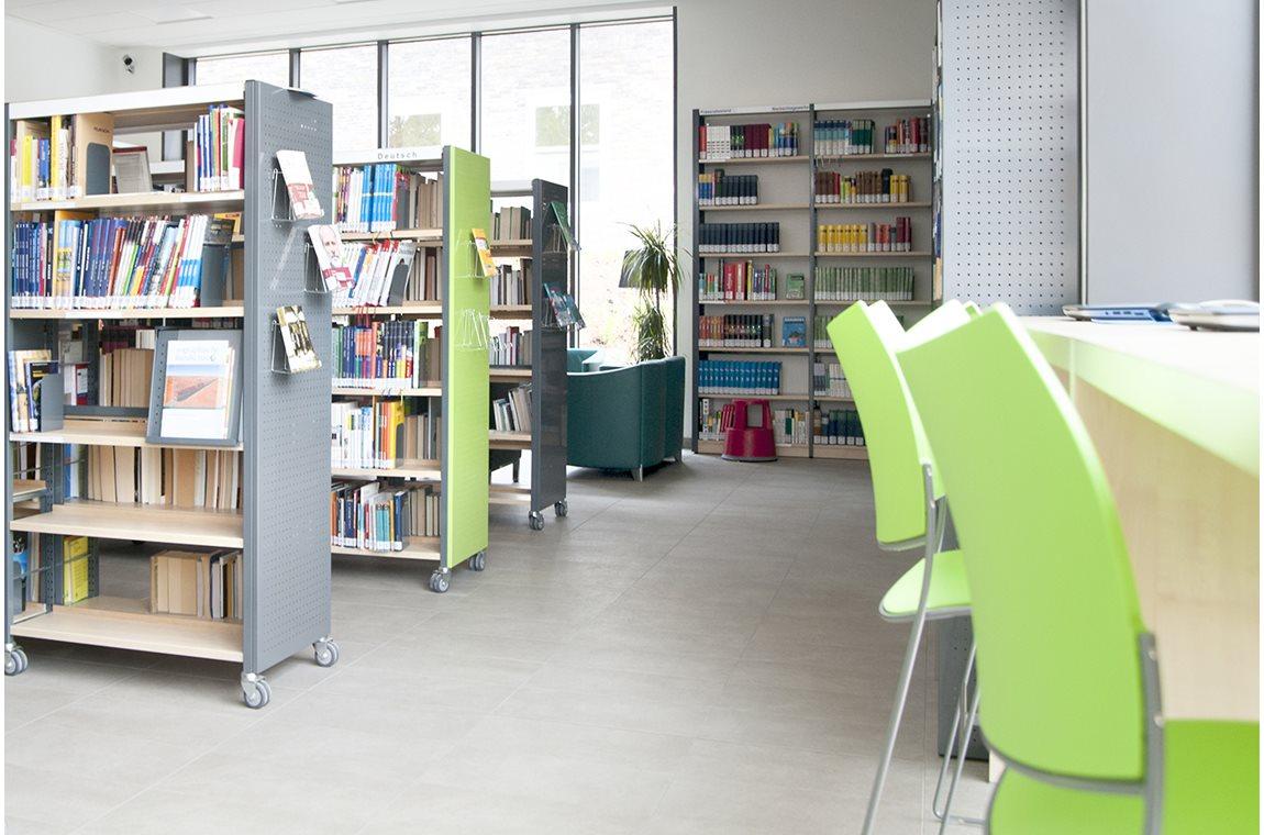 Cusanus-Gymnasium Wittlich, Deutschland - Schulbibliothek