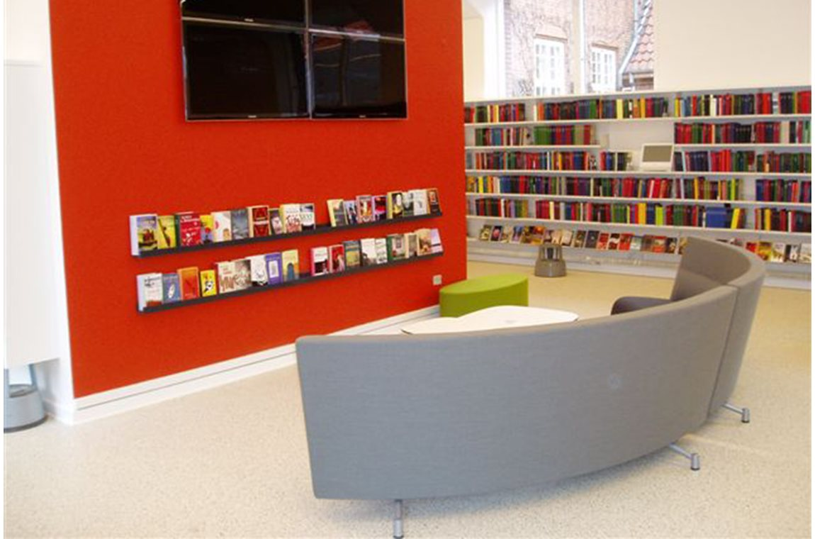 Bibliothèque municipale de Silkeborg, Danemark - Bibliothèque municipale