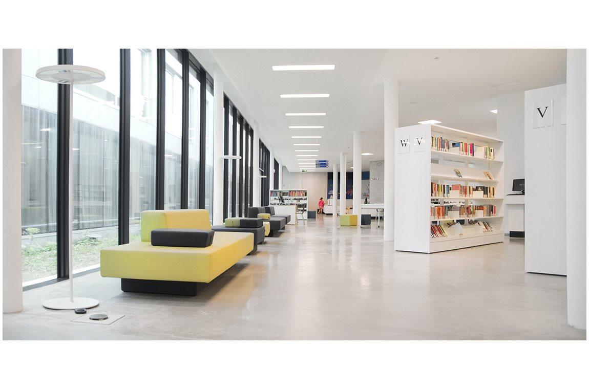 Öffentliche Bibliothek Wilrijk, Belgien - Öffentliche Bibliothek