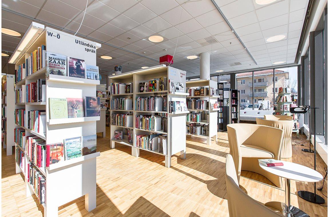 Knivsta bibliotek, Sverige - Offentligt bibliotek