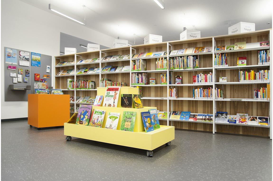 Bibliothèque municpale de Westerwaldstrasse, Allemagne - Bibliothèque municipale
