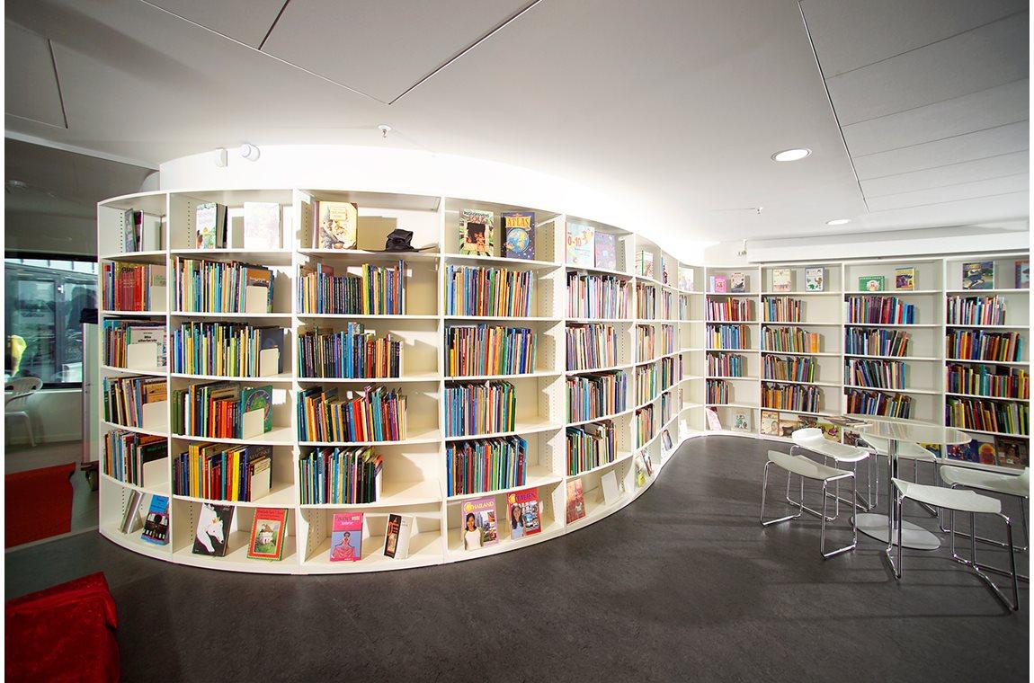 Middelfart bibliotek, Danmark - Offentligt bibliotek