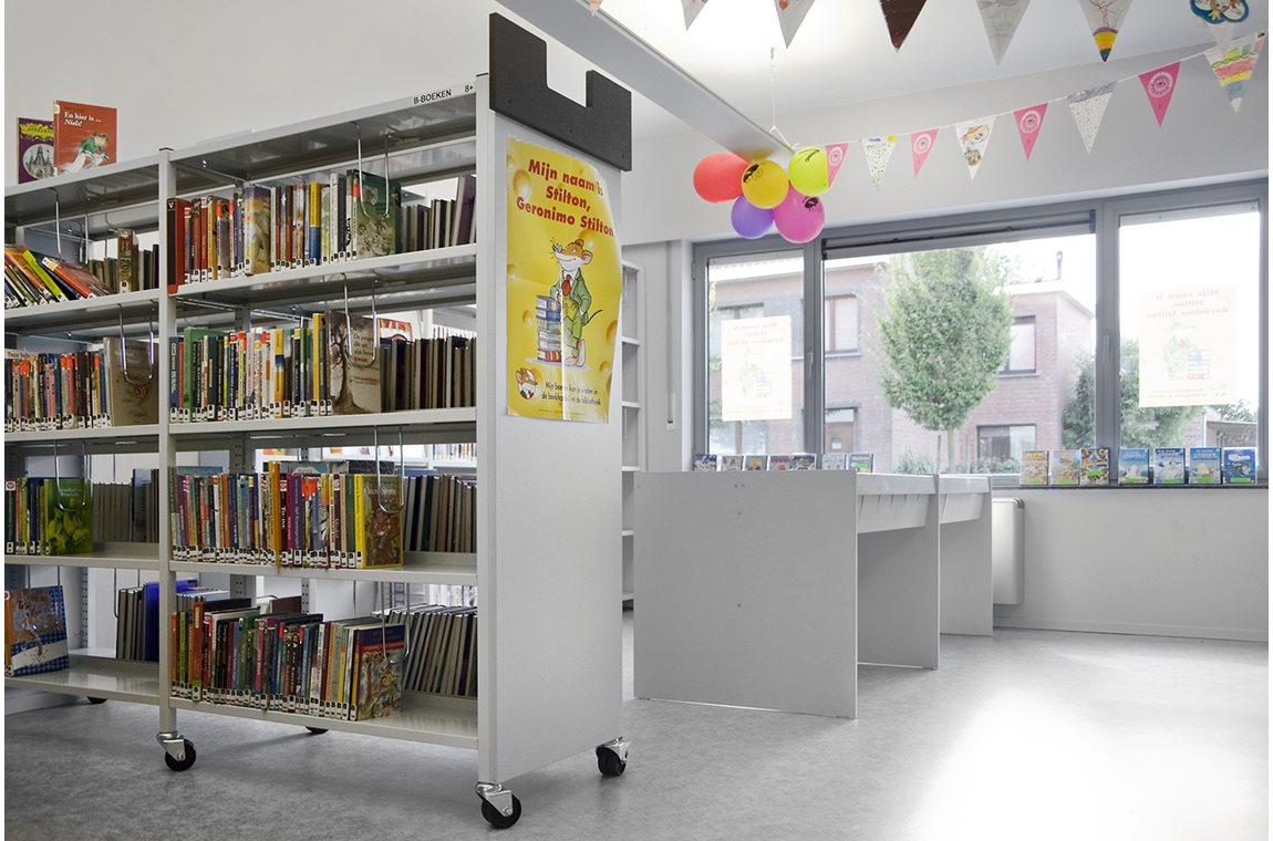 Beerse bibliotek, Belgien - Offentligt bibliotek