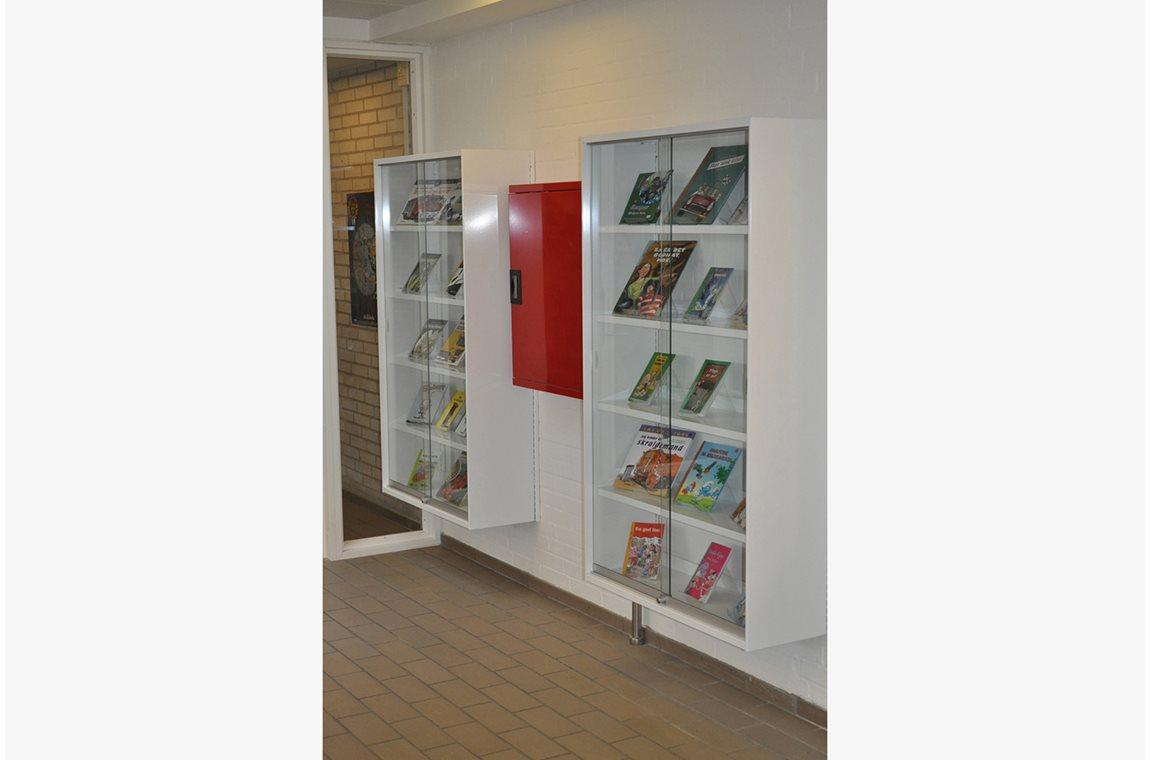 Vallerød skolebibliotek, Danmark - Skolebibliotek