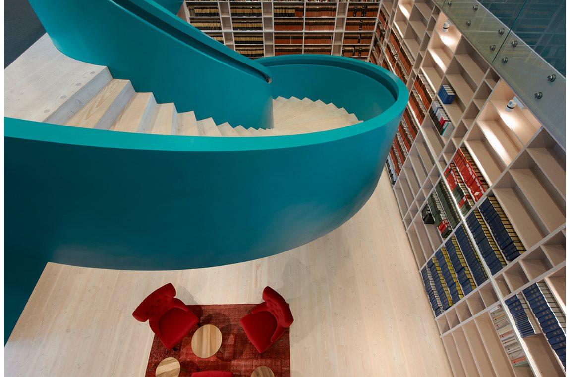 Biblioteket i advokatfirmaet Vinge, Sverige - Virksomhedsbibliotek