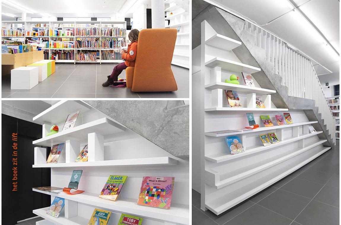 Bibliothèque municipale de Ternat, Belgique  - Bibliothèque municipale