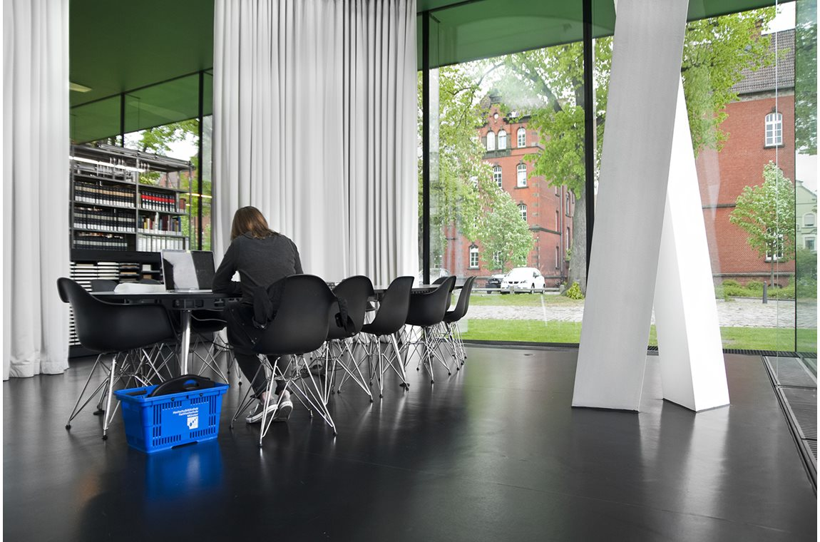 Bibliothèque de l'université Münster, Allemagne - Bibliothèques universitaires et d'écoles supérieures