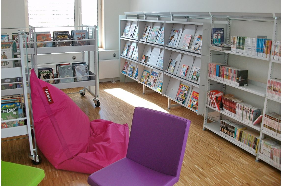Openbare bibliotheek La Duchère, Lyon, Frankrijk - Openbare bibliotheek