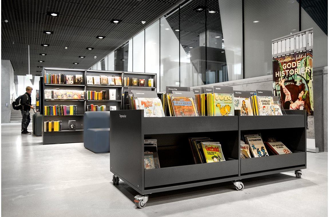 Dokk1, Aarhus, Denmark - Public libraries