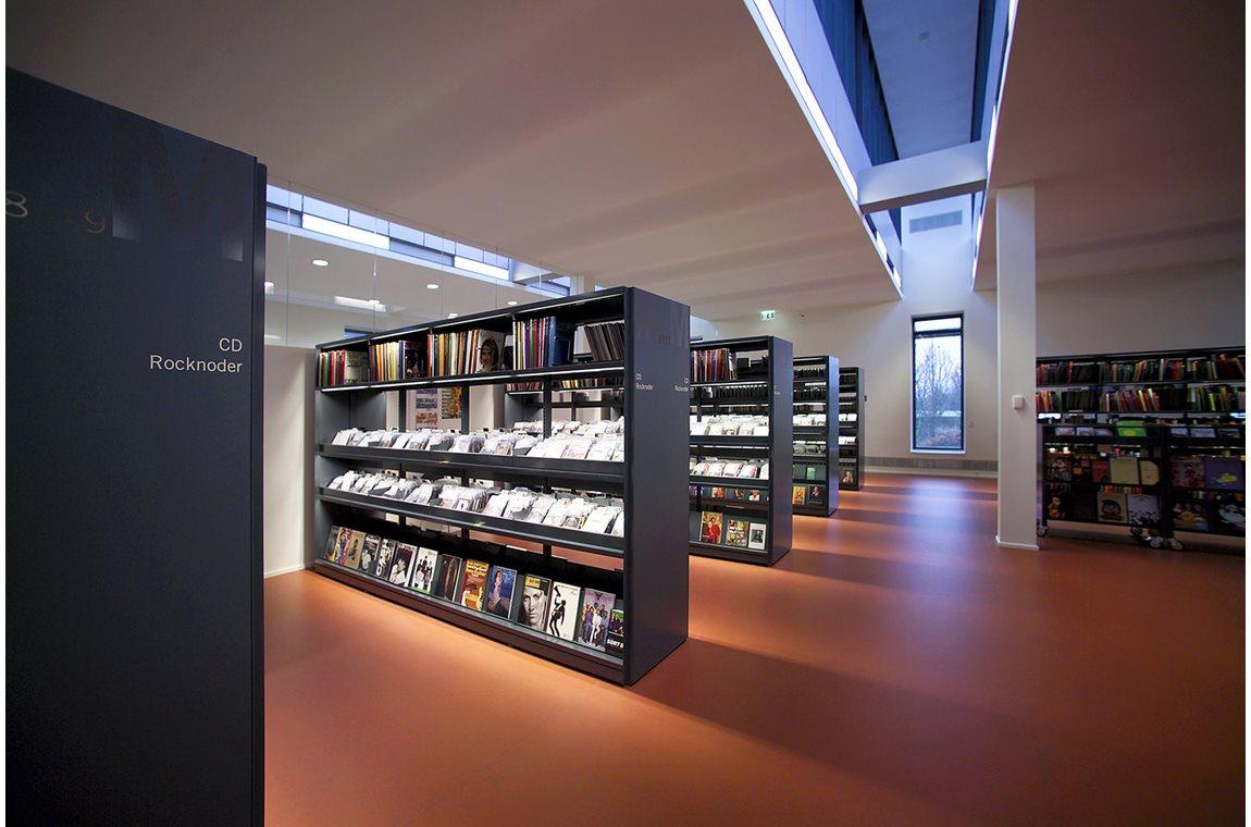 Bibliothèque municipale d'Albertslund, Danemark - Bibliothèque municipale