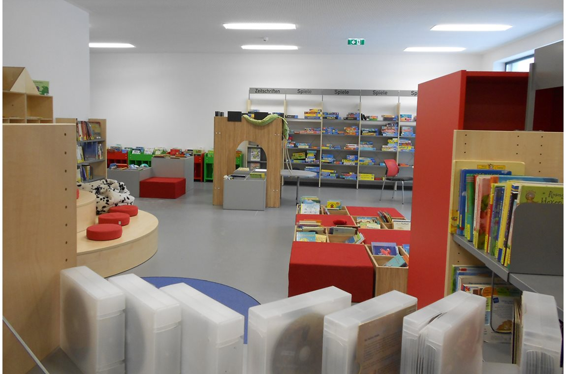 Stadtbücherei Spittal an der Drau, Österreich - Öffentliche Bibliothek