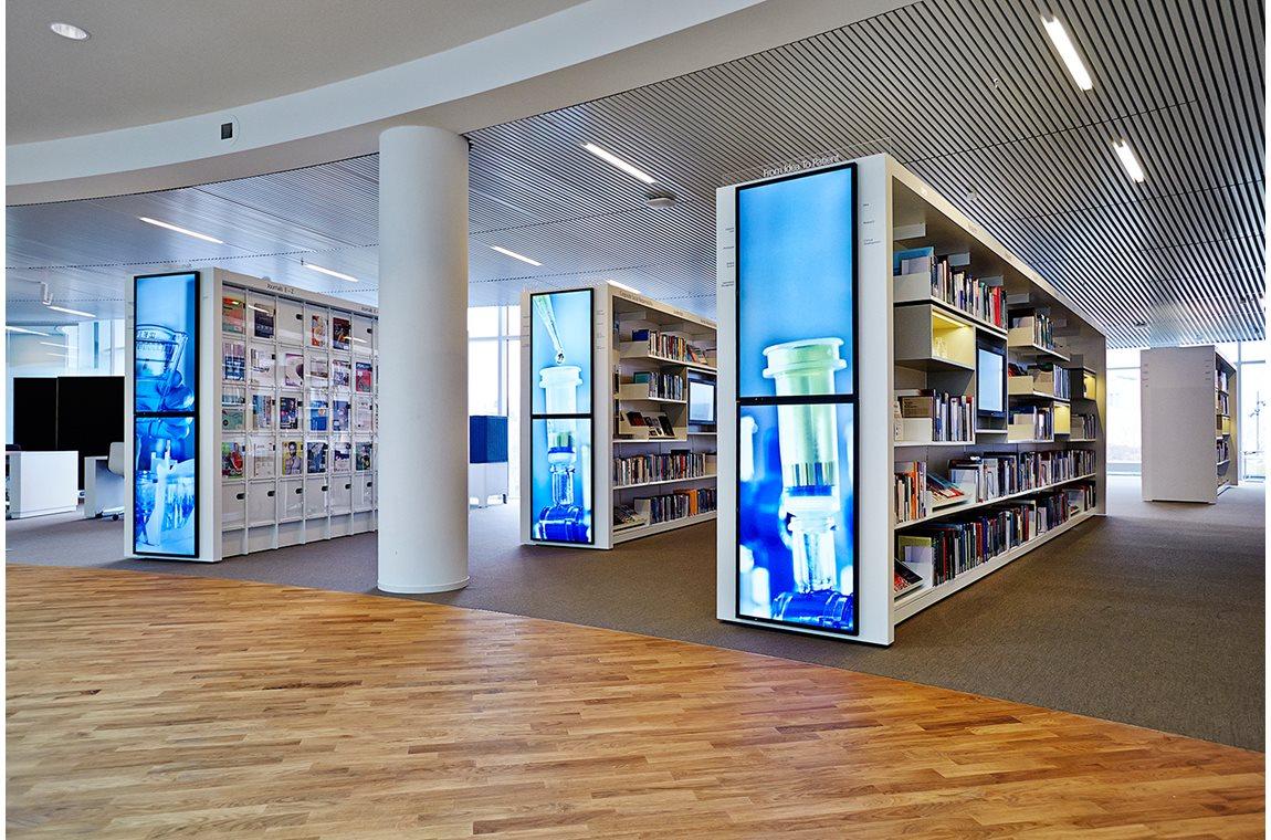 Novo Nordisk bibliotek, Danmark - Virksomhedsbibliotek