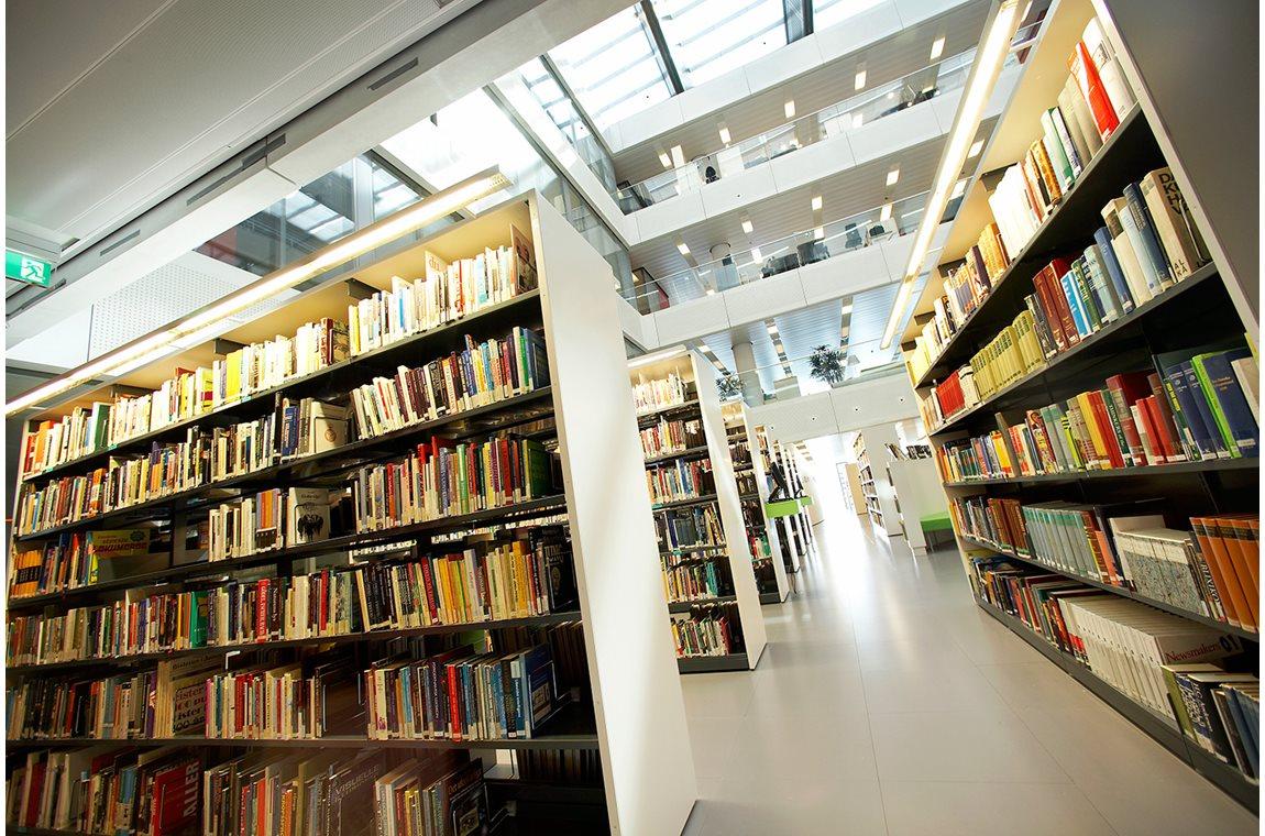 Médiathèque de DR, Danemark - Bibliothèque d'entreprise