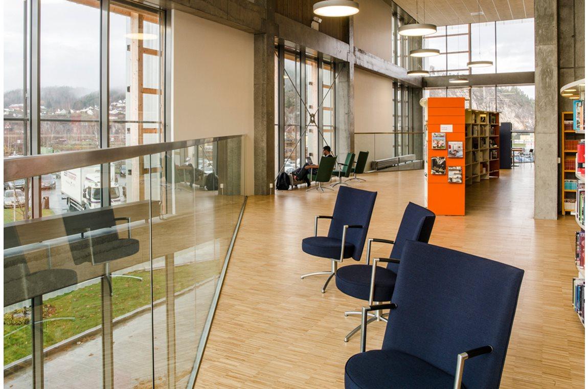 Openbare bibliotheek Notodden, Noorwegen - Openbare bibliotheek