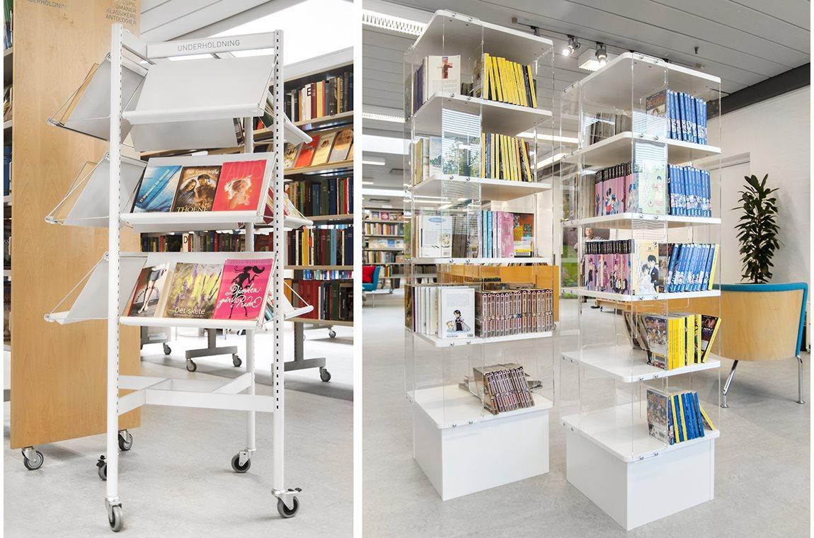 Openbare bibliotheek Tarup, Denemarken - Openbare bibliotheek