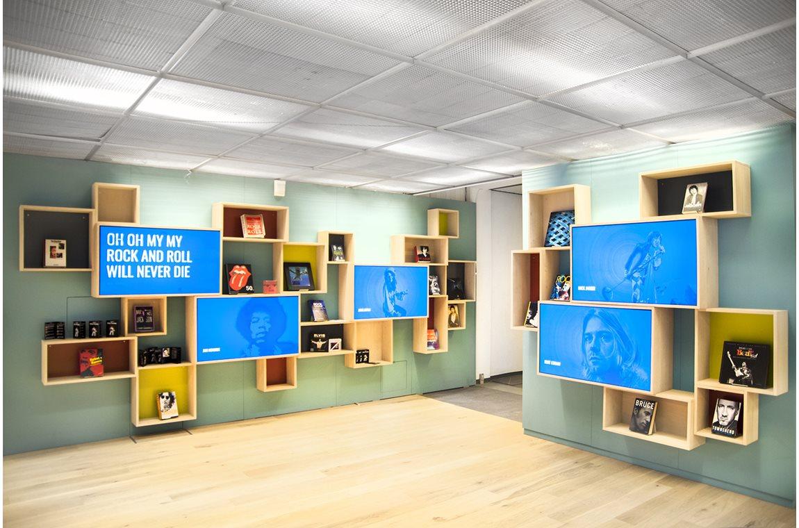 Aabenraa Bibliotek, Danmark - Offentligt bibliotek