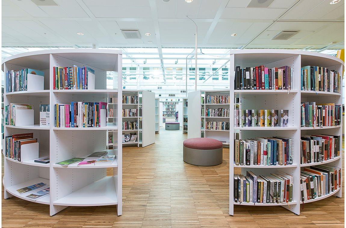 Kista bibliotek, Stockholm, Sverige - Offentliga bibliotek