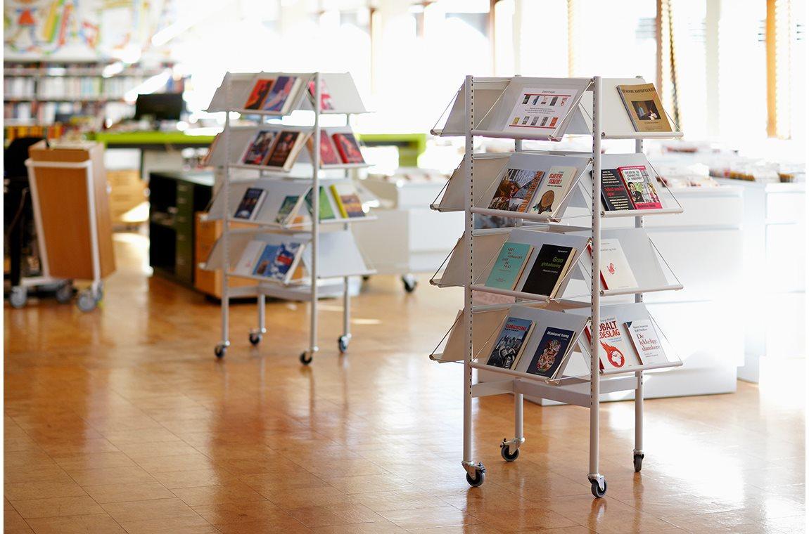 Bibliothèque municipale de Glostrup, Danemark - Bibliothèque municipale