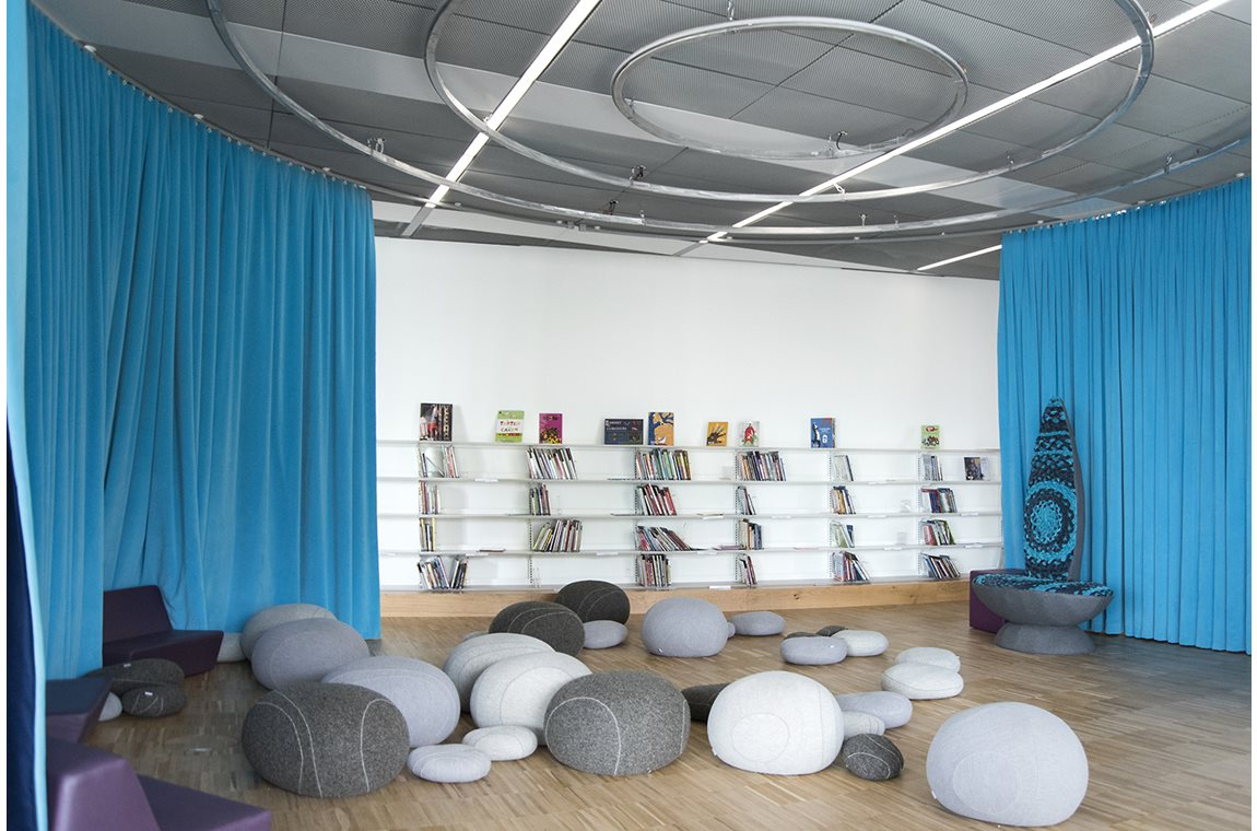 Alexis de Tocqueville Public Library, Caen-la-Mer, France - Public libraries