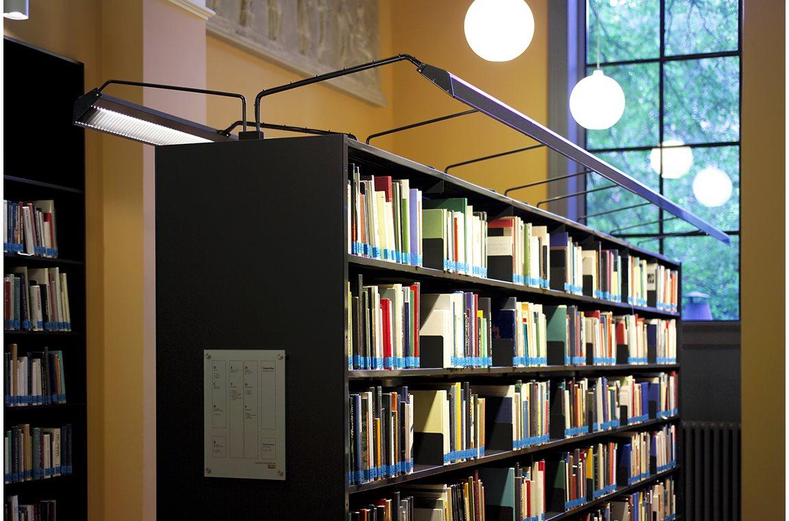Danmarks Kunstbibliotek, Charlottenborg - Akademisk bibliotek
