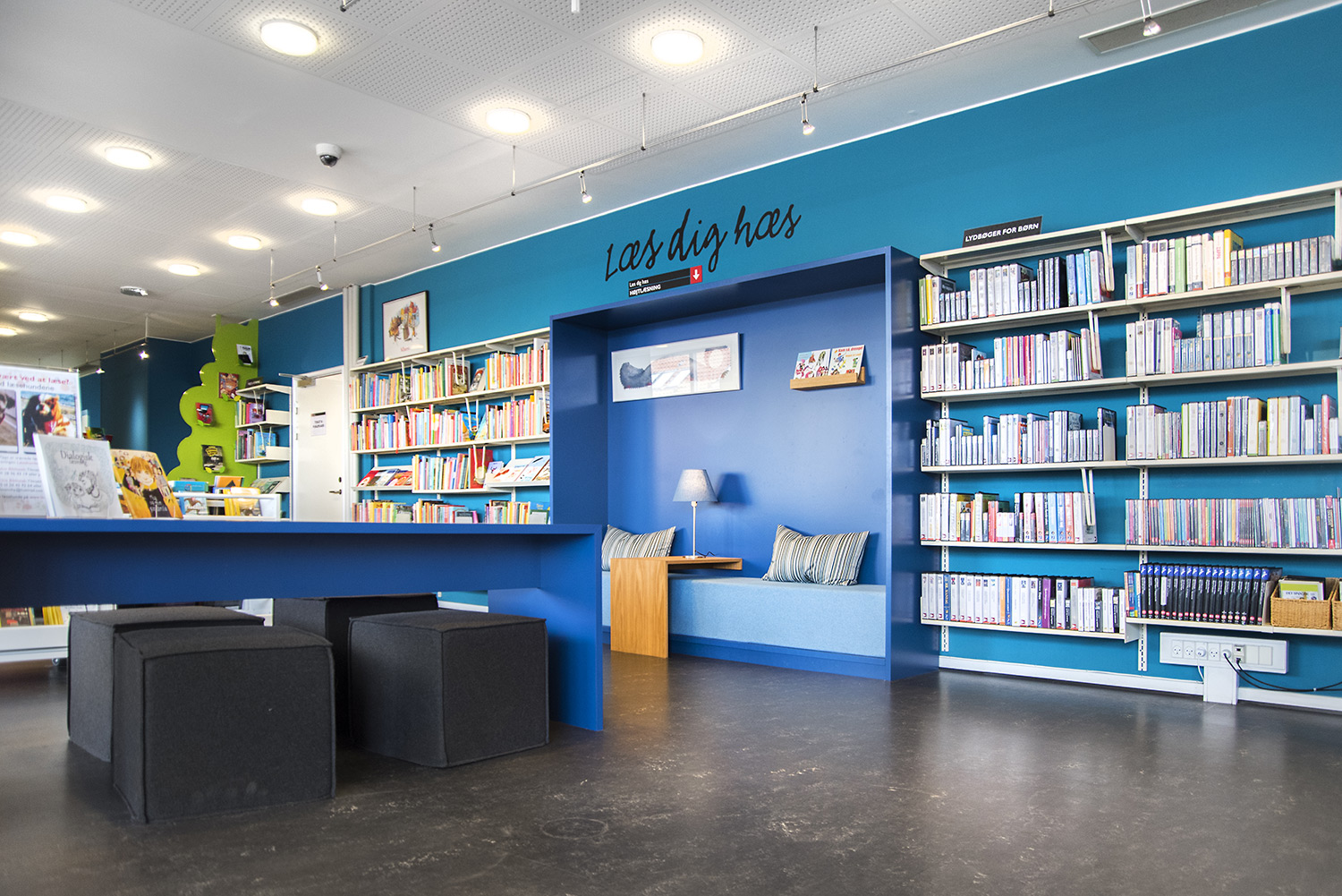 photo regarding Library Story Password known as Fredericia Childrens Library, Denmark