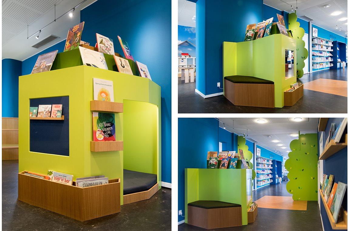 Openbare bibliotheek Fredericia, Denemarken - Openbare bibliotheek