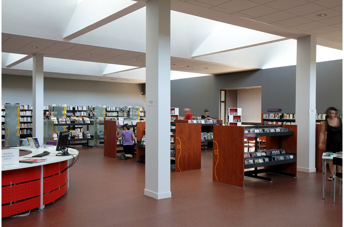 Chaligny Public Library, France - Public libraries