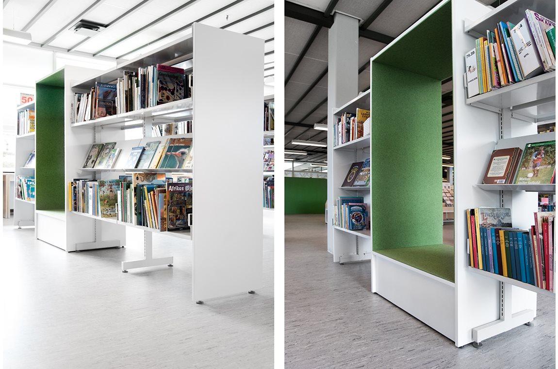 Bibliothèque municipale de Nakskov, Danemark - Bibliothèque municipale