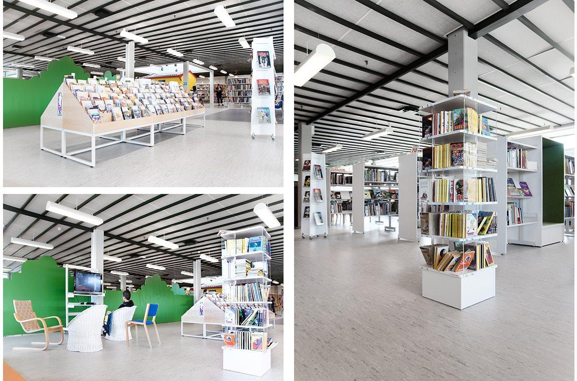 Offentliche Bibliotheek Nakskov, Denemarken - Openbare bibliotheek