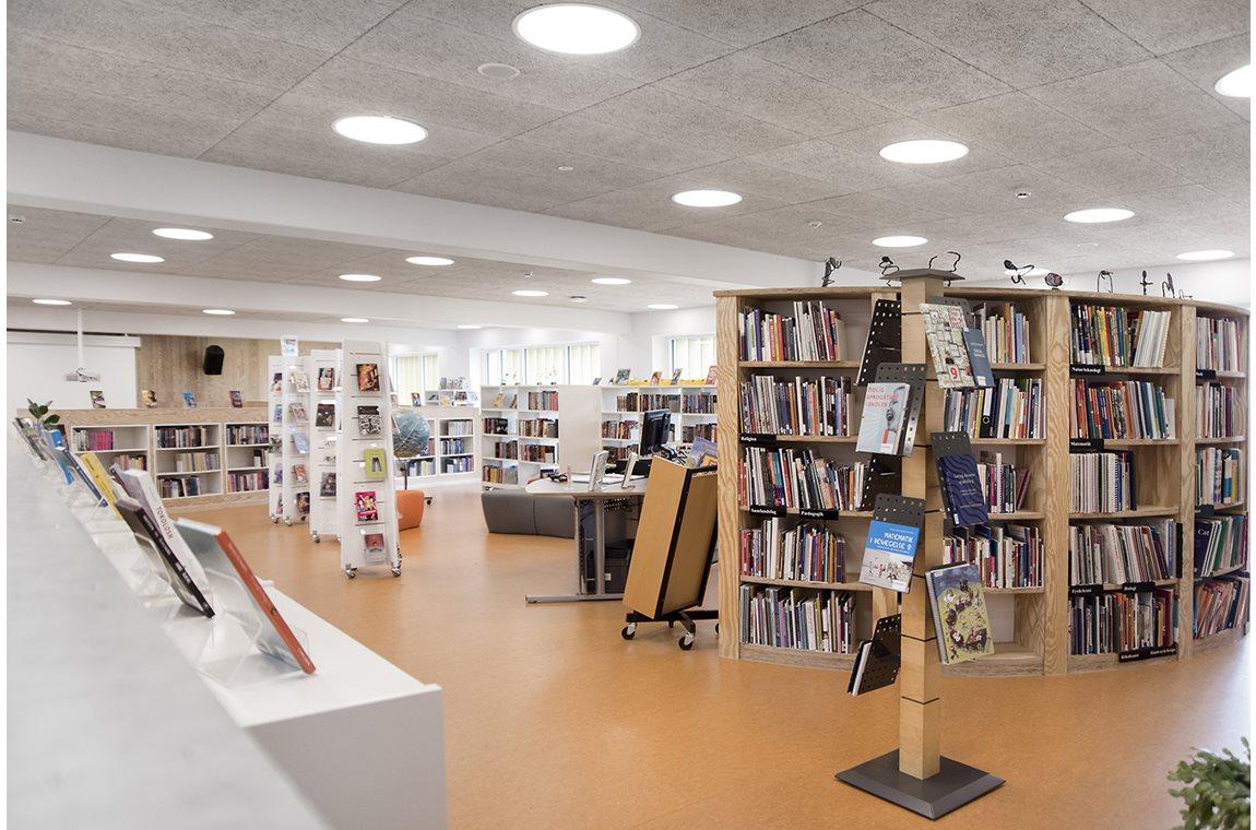 Lykkesgårdskolen, Varde, Danmark - Skolbibliotek