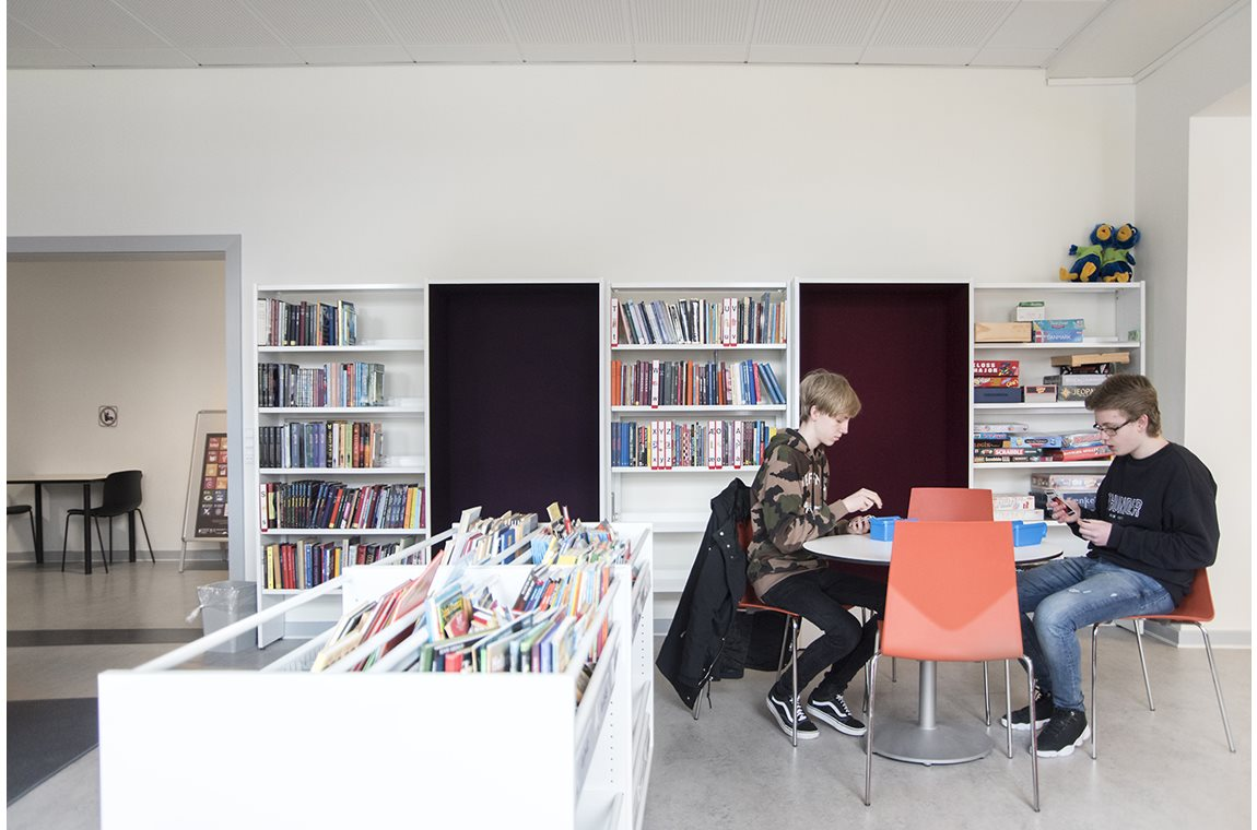 Maribo School, Denmark - School libraries