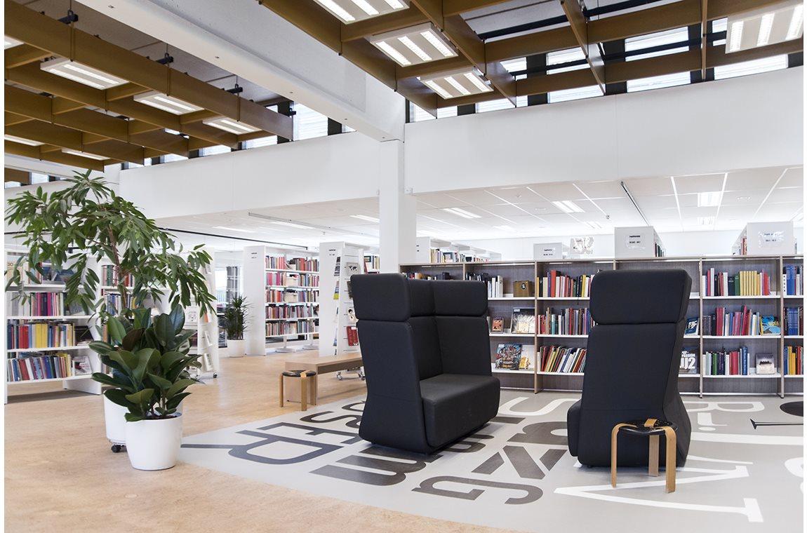 Bibliothèque municipale de Guldborgsund, Danemark - Bibliothèque municipale
