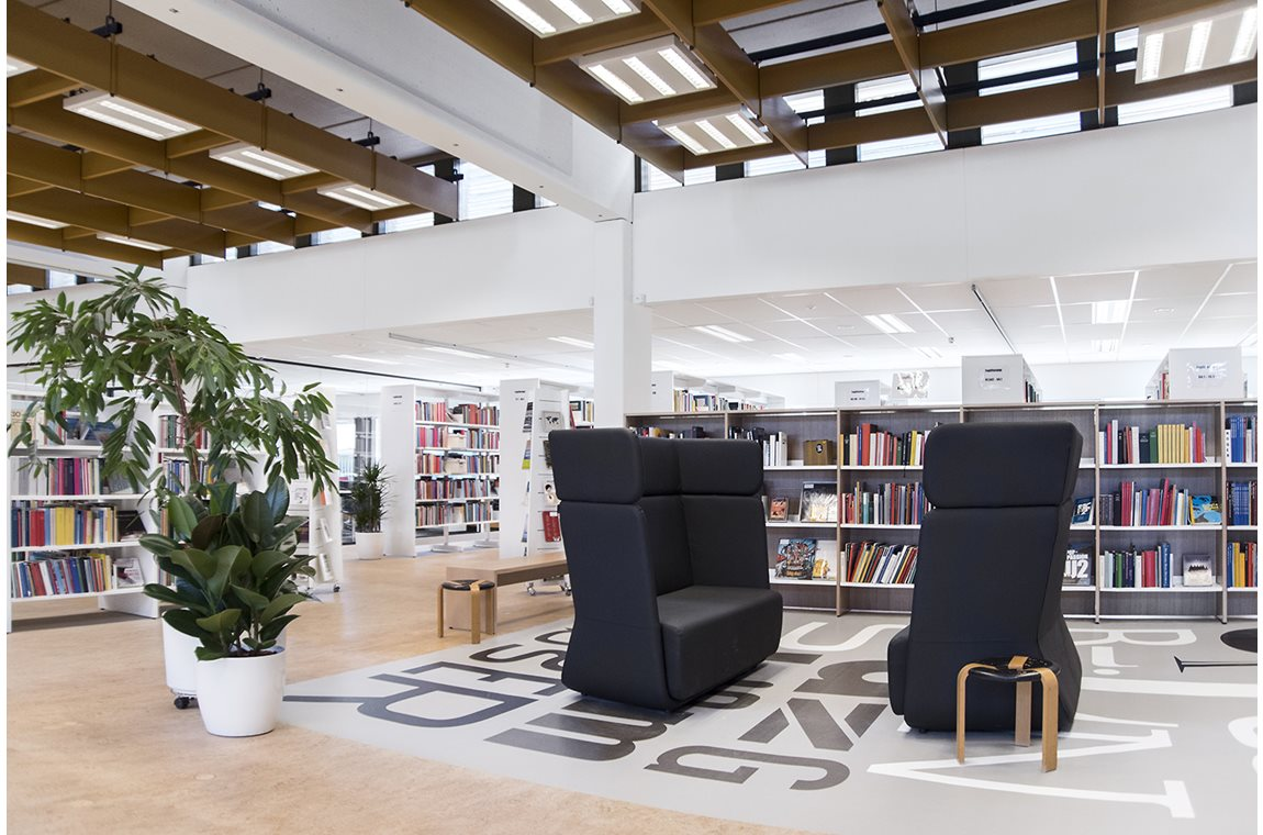 Guldborgsund Bibliotek, Danmark - Offentligt bibliotek
