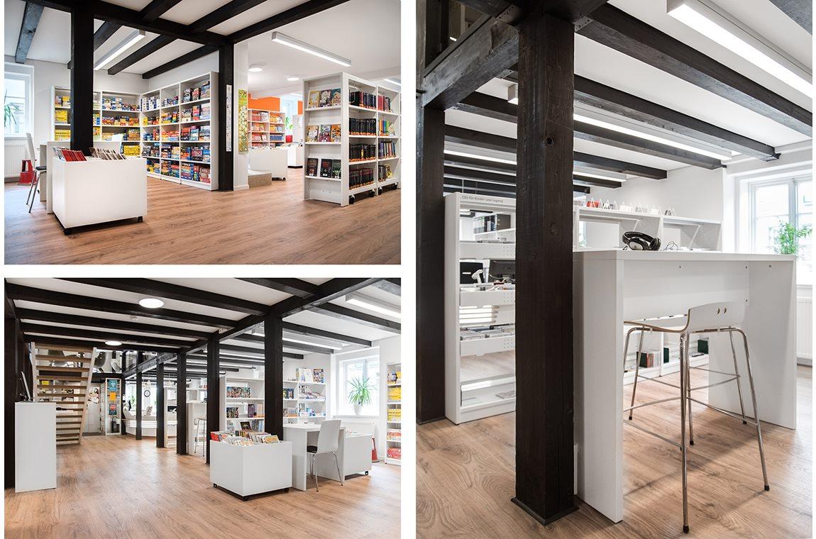 Bibliothèque municipale de Bramsche, Allemagne - Bibliothèque municipale