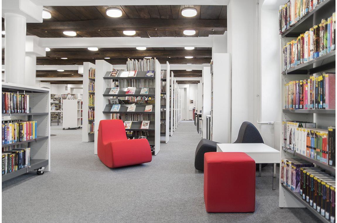 Öffentliche Bibliothek Halle, Deutschland - Öffentliche Bibliothek