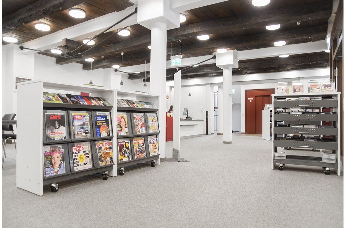 Bibliothèque municipale d'Halle, Allemagne - Bibliothèque municipale