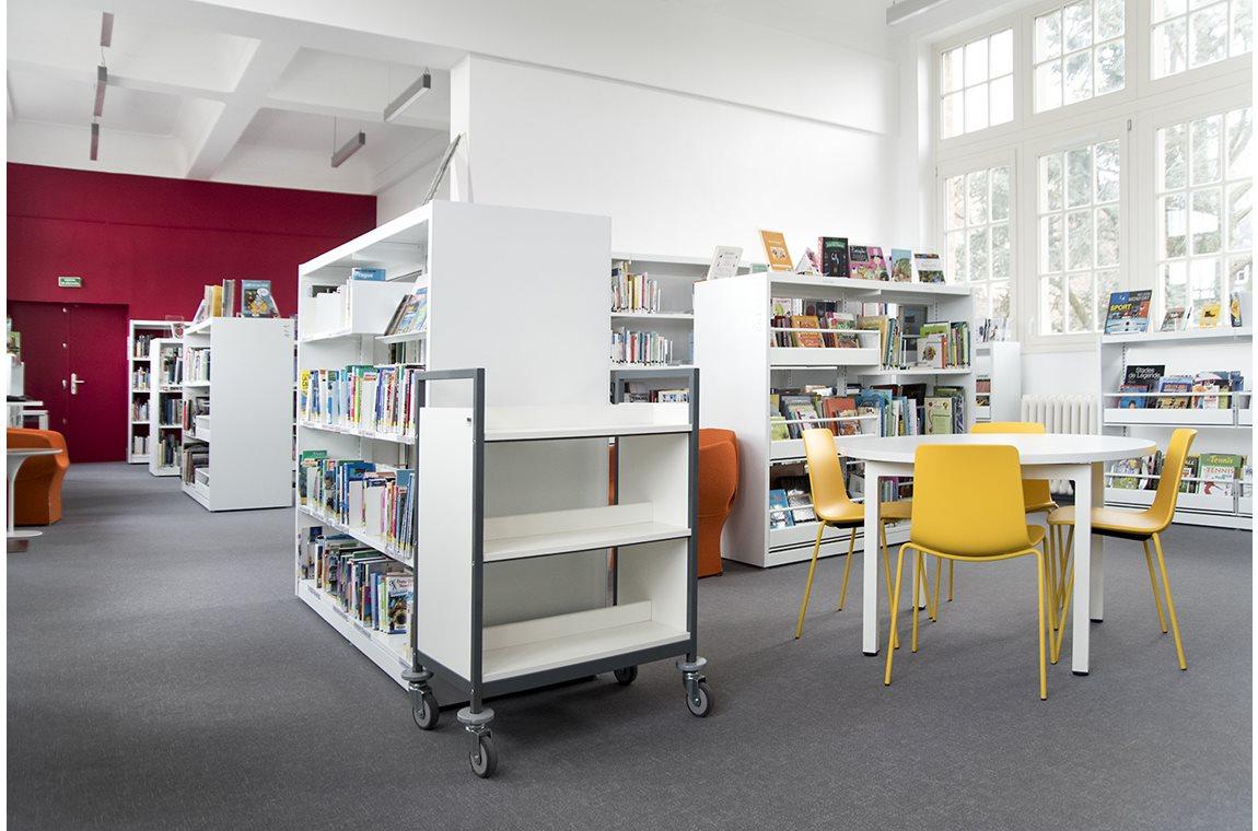 Openbare bibliotheek Bailleul, Frankrijk - Openbare bibliotheek