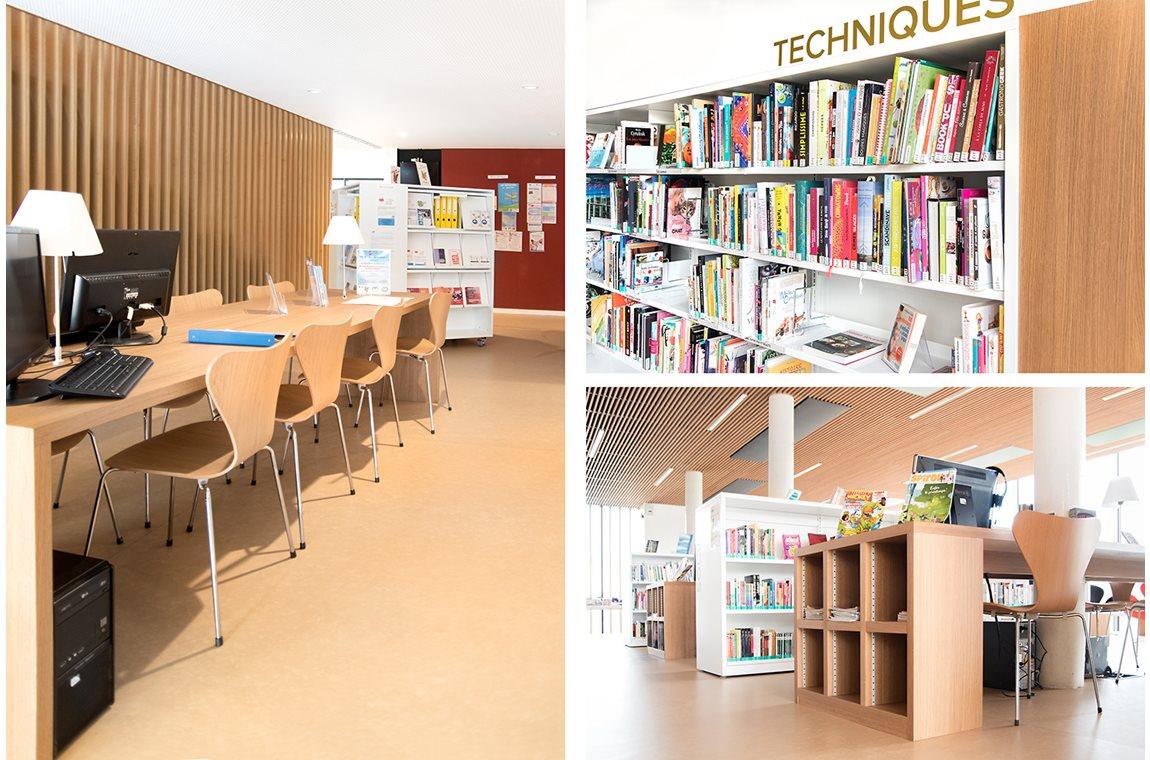 Mondeville Public Library, France - Public libraries